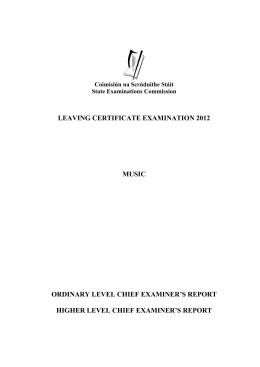 Leaving cert music 2000 marking scheme for essay