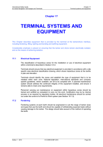 terminal systems and equipment - International Safety Guide for