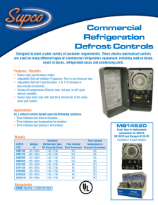 Defrost Timer Product Sheet.indd