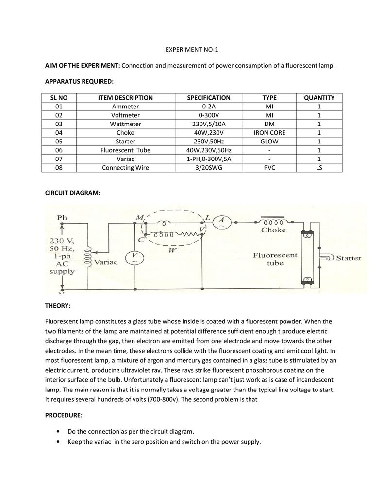 Lab Manual Of Basic Electrical Engineering Variac Wiring Diagram