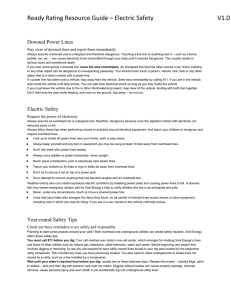 Ready Rating Resource Guide – Electric Safety V1.0 (drb)