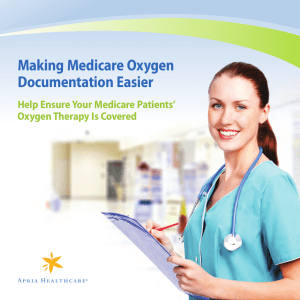 Making Medicare Oxygen Documentation Easier