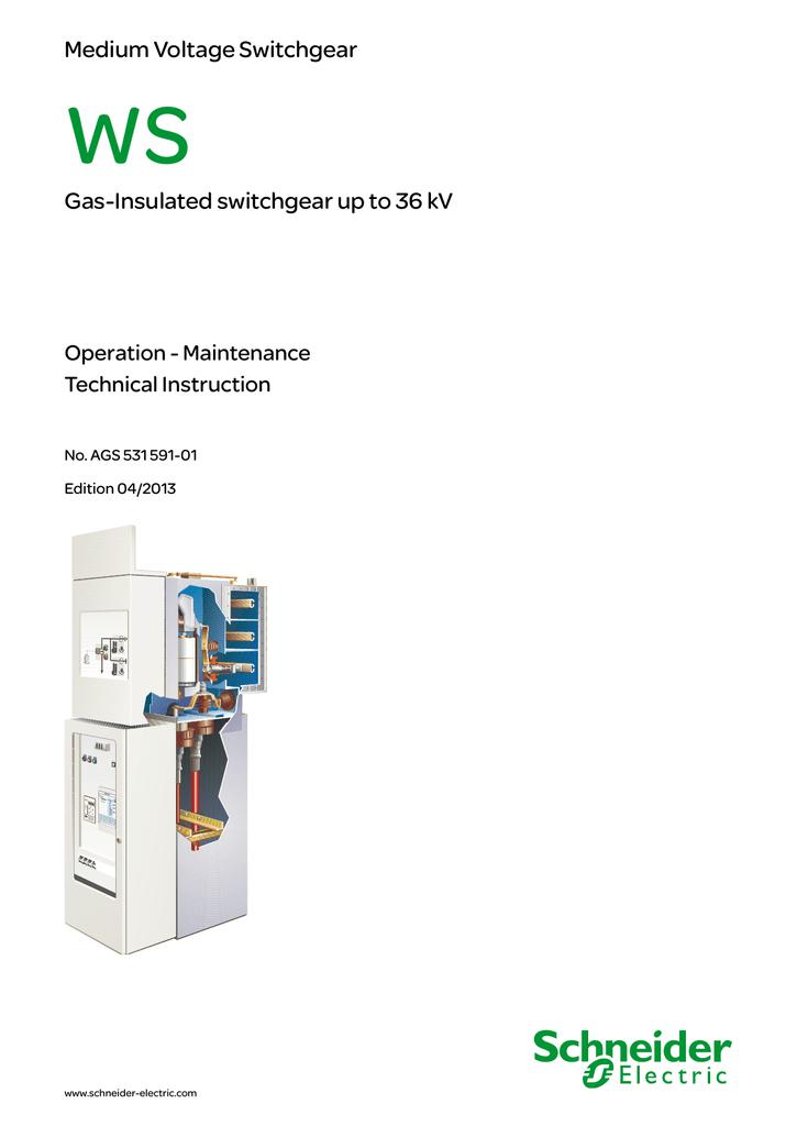 Medium Voltage Switchgear Gas-Insulated switchgear up to 36 kV