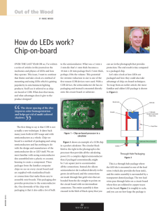 How do LEDs work? Chip-on-Board