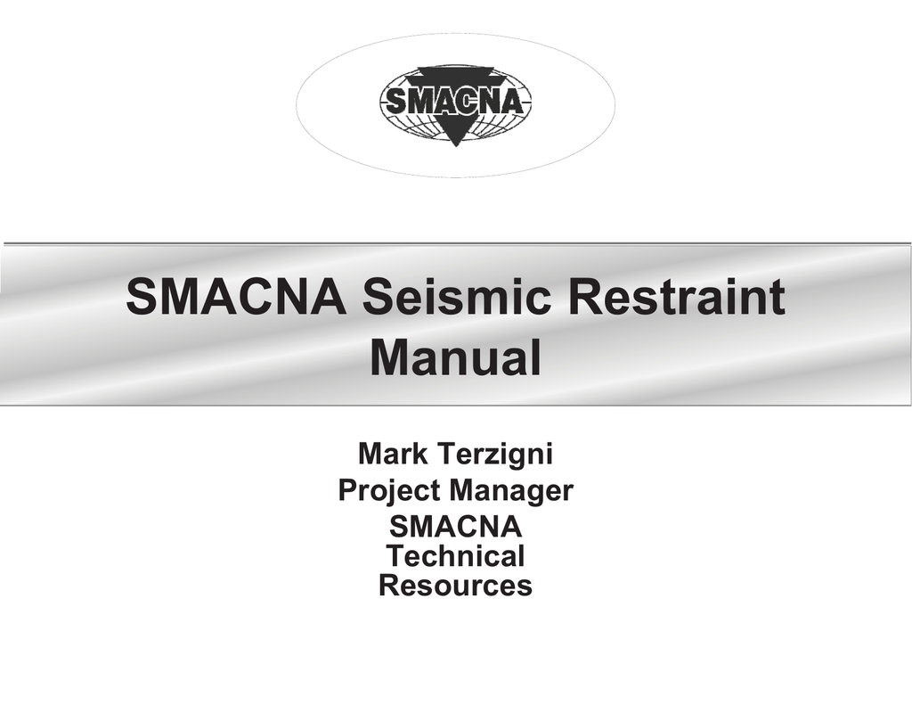 smacna seismic restraint manual free owners manual u2022 rh wordworksbysea com smacna seismic restraint manual 2012 smacna seismic restraint manual guidelines