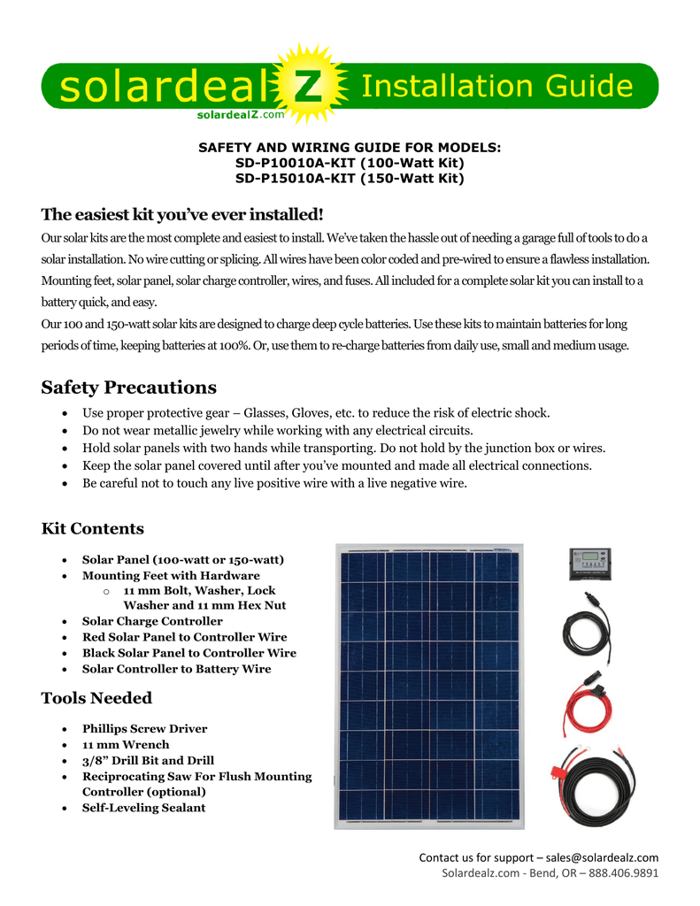 Safety Precautions Solar Panel Wiring Guide