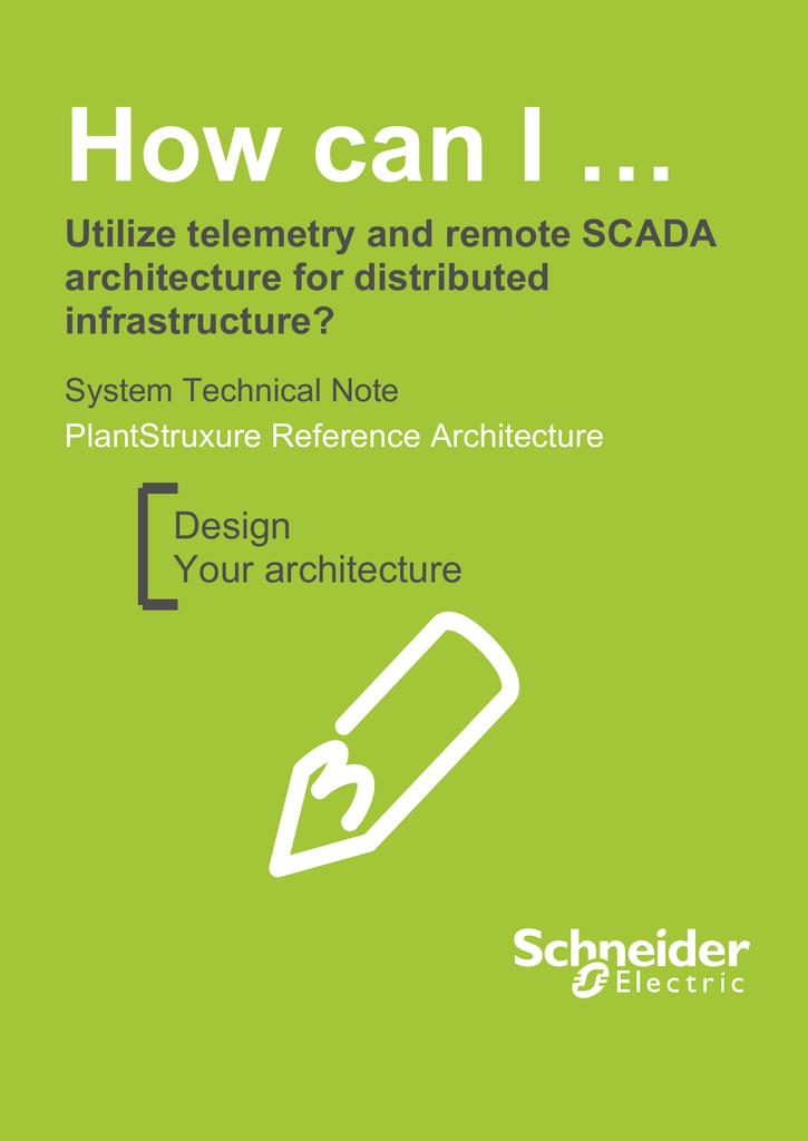 Remote SCADA - Schneider Electric