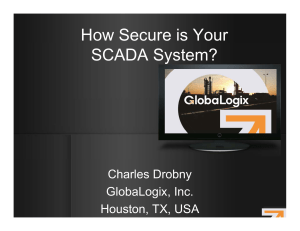 How Secure is Your SCADA System?