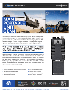 man portable unit gen4