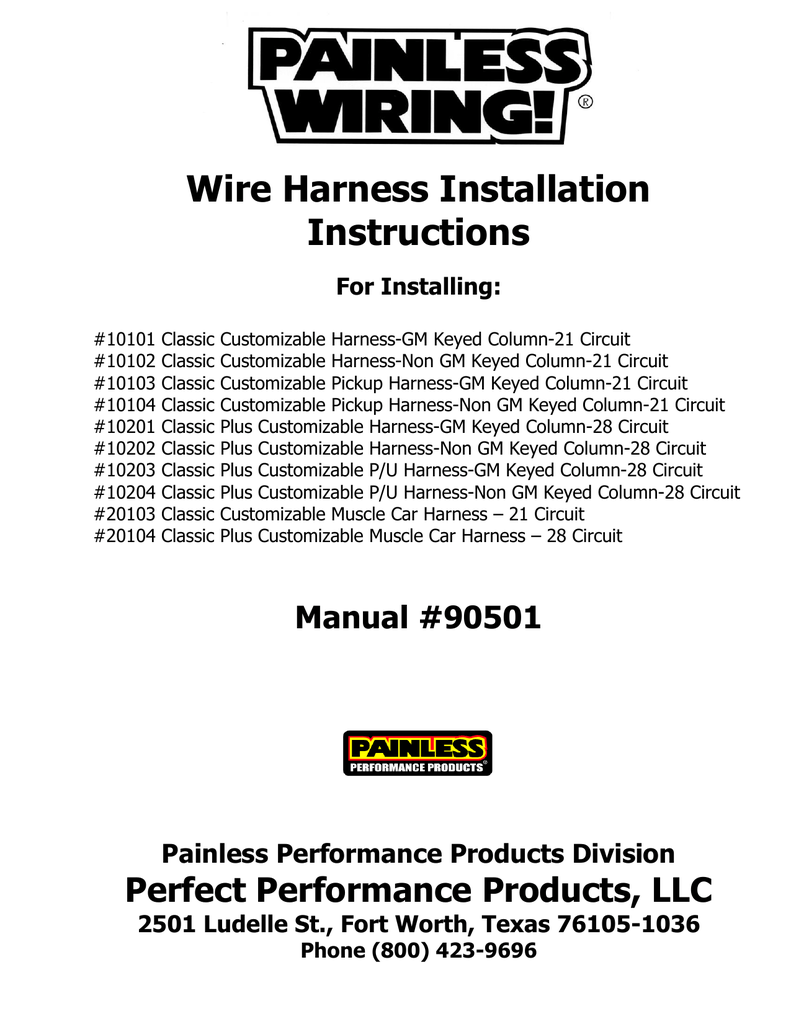 Wiring Harness Install Manual Library Painless Installation 018134373 1 A4b9520ff61d7ea1cfb68a53a7b11540 Wire Instructions