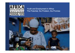 Youth and Employment in Africa: The Potential, the