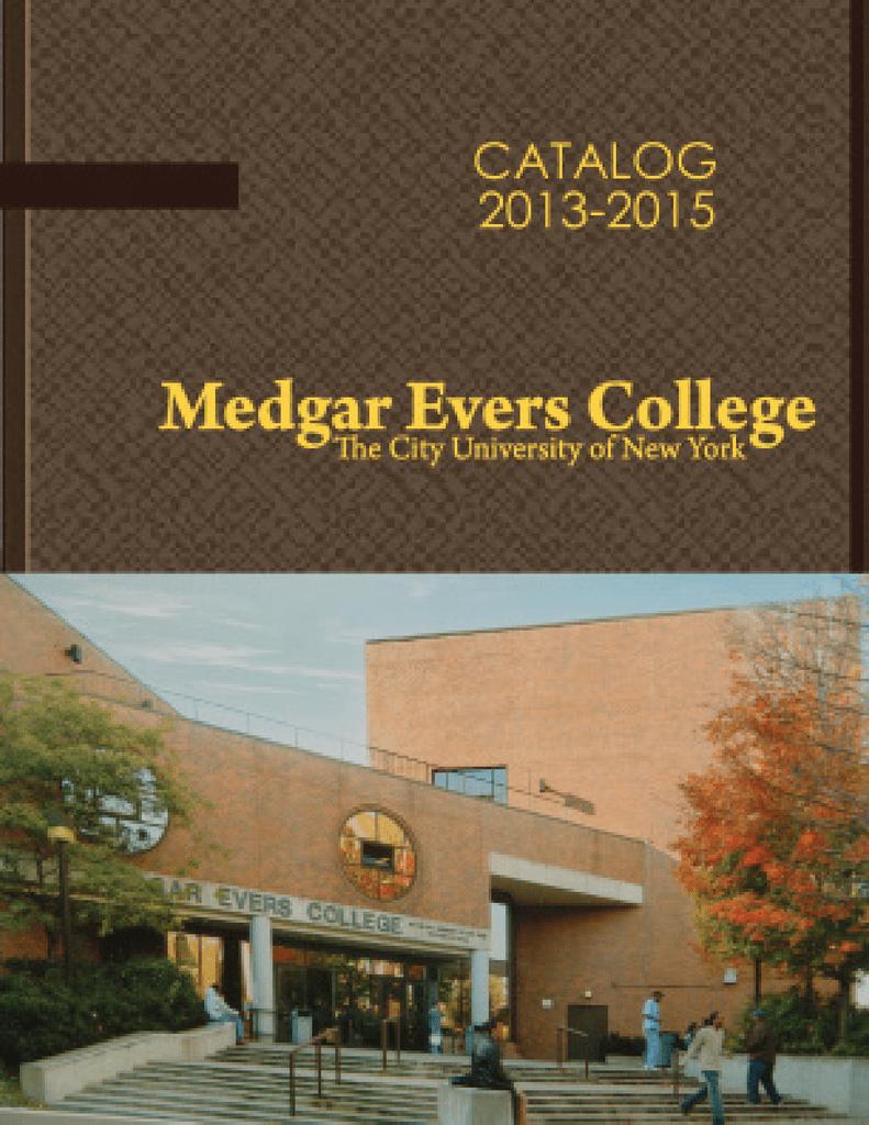 2013 2015 mec catalog 1 medgar evers college fandeluxe Images
