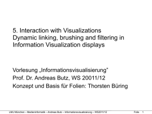 5. Interaction with Visualizations Dynamic linking