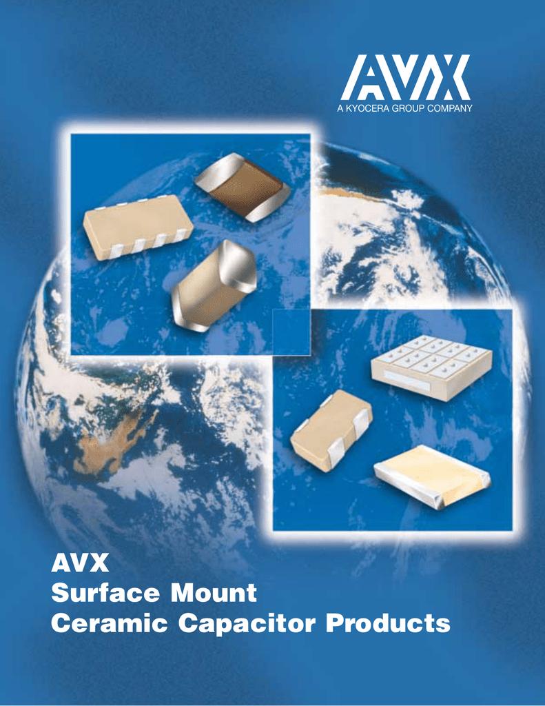 100nF 50V ±10/% X7R 150°C Ceramic Automotive Leaded Capacitors AVX AR Multi Qty