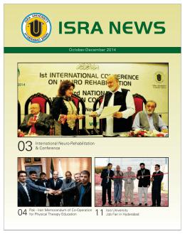 ISRA NEWS - Isra University