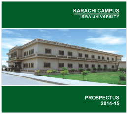 Prospectus 2014-2015 - Al