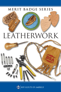 Leatherwork - Boy Scouts of America