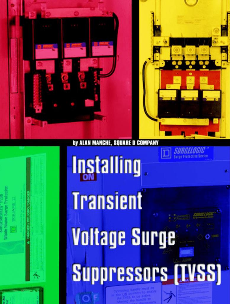 Tvss Receptacle Wiring Diagram