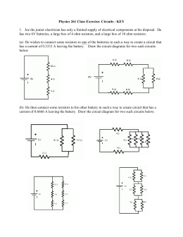COMBINED SERIES-PARALLEL CIRCUIT EXAMPLE