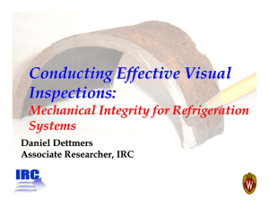 Conducting Effective Visual Inspections