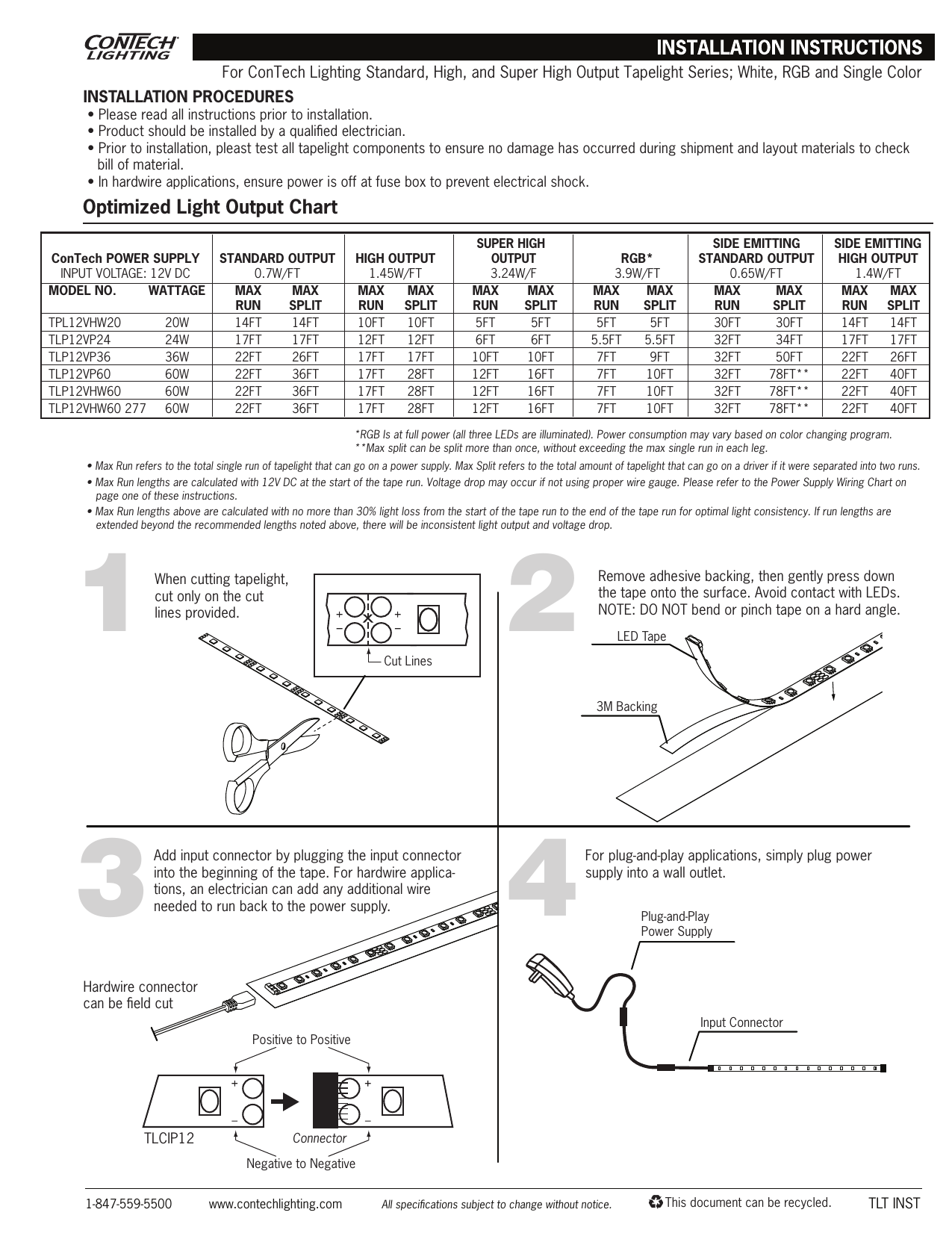 Tlt Inst Contech Lighting Jack Wiring Diagram In Addition Wall Phone On