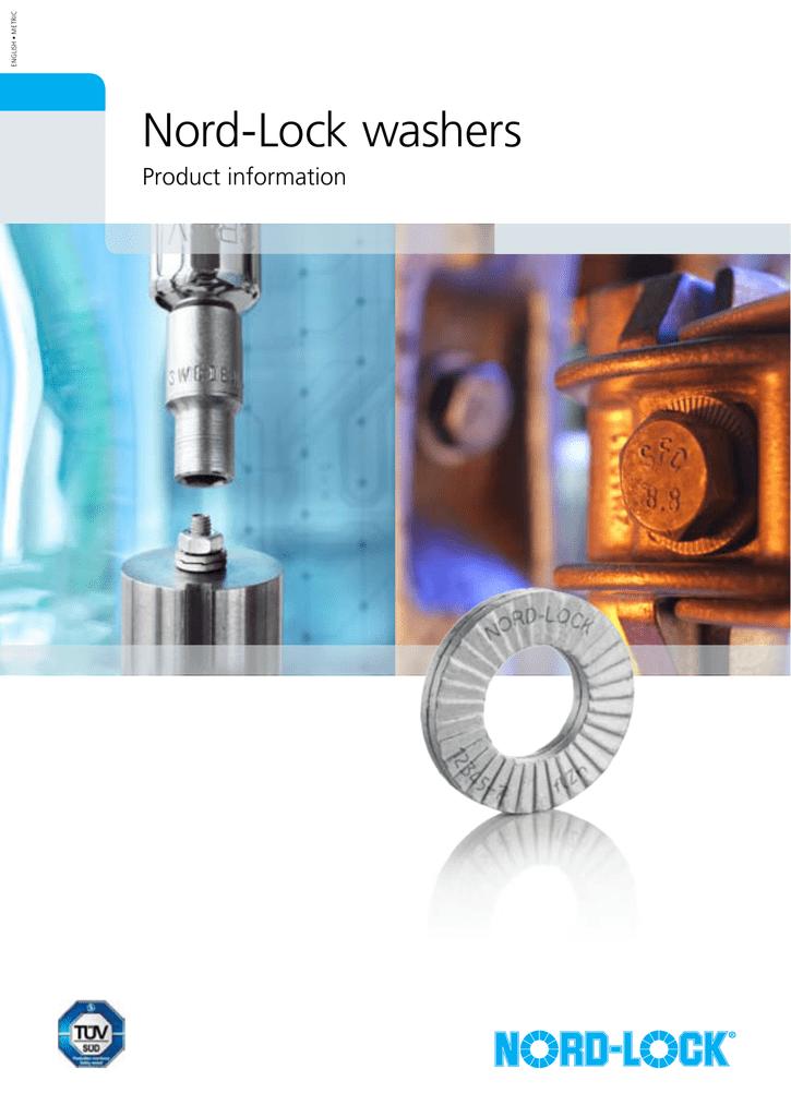 M12 Wedge Locking Washer Carbon Steel Zinc Flake Coated 200 Pack