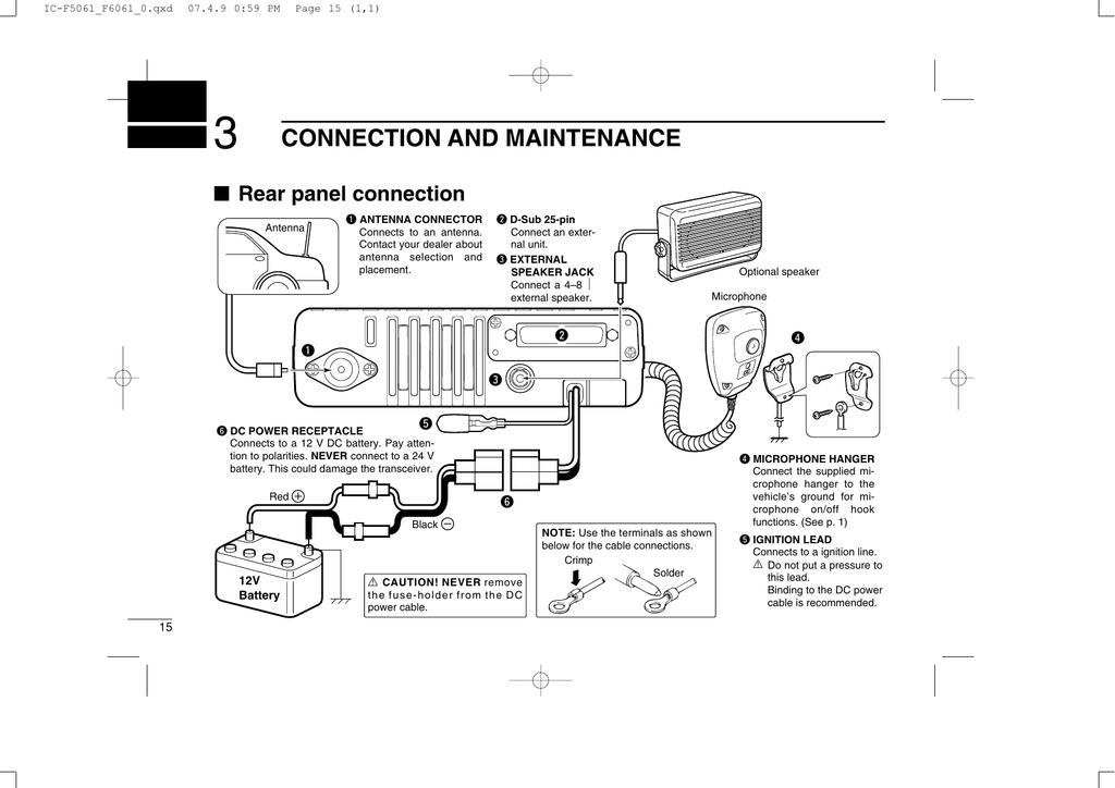 external speaker jack wiring