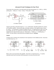 Advanced Circuit Techniques In Class Work