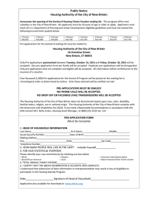cthcvp.org - CT Housing Choice Voucher Program