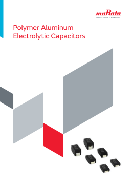 Polymer Aluminum Electrolytic Capacitors