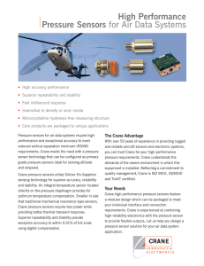 High Performance Pressure Sensors for Air Data Systems