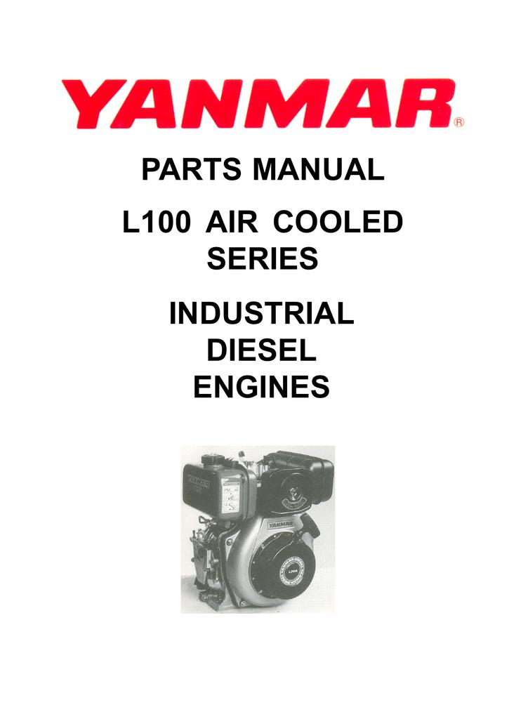 Yanmar LV-100 Parts Manual on