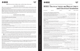 PDF, Unknown - The Dielectrics and Electrical Insulation Society of