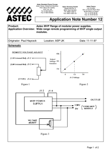 AN12 MVP VOLTAGE PROGRAMMING