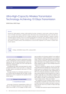 Ultra-High-Capacity Wireless Transmission Technology