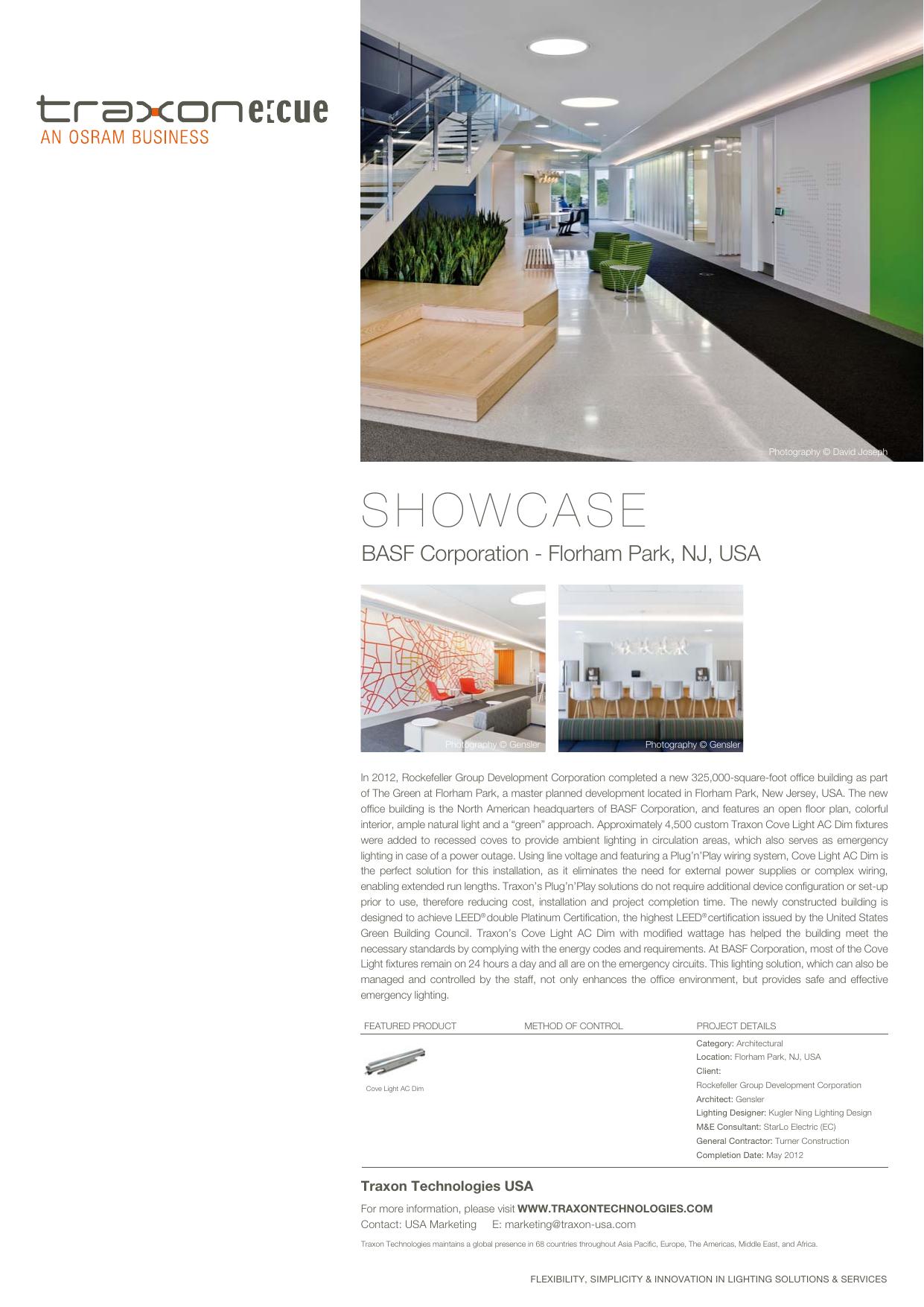 Showcase Traxon Technologies