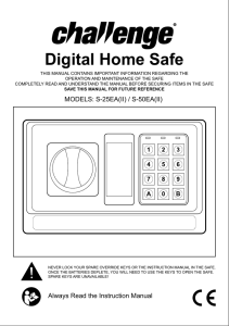 Digital Home Safe