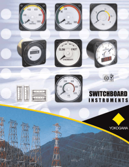 switchboard instruments