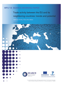 Trade activity between the EU and its neighboring countries: trends