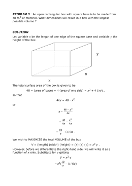 Find the dimensions of a rectangle