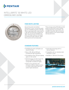 intellibrite® 5g white led commercial white lighting
