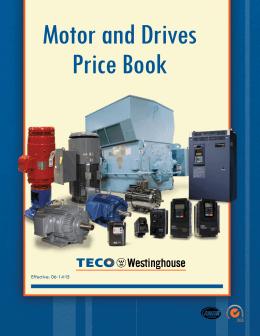 556 series panel mount indicators for Teco westinghouse motor catalog