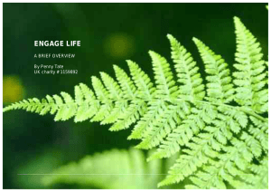 Engage Life - A Brief Overview