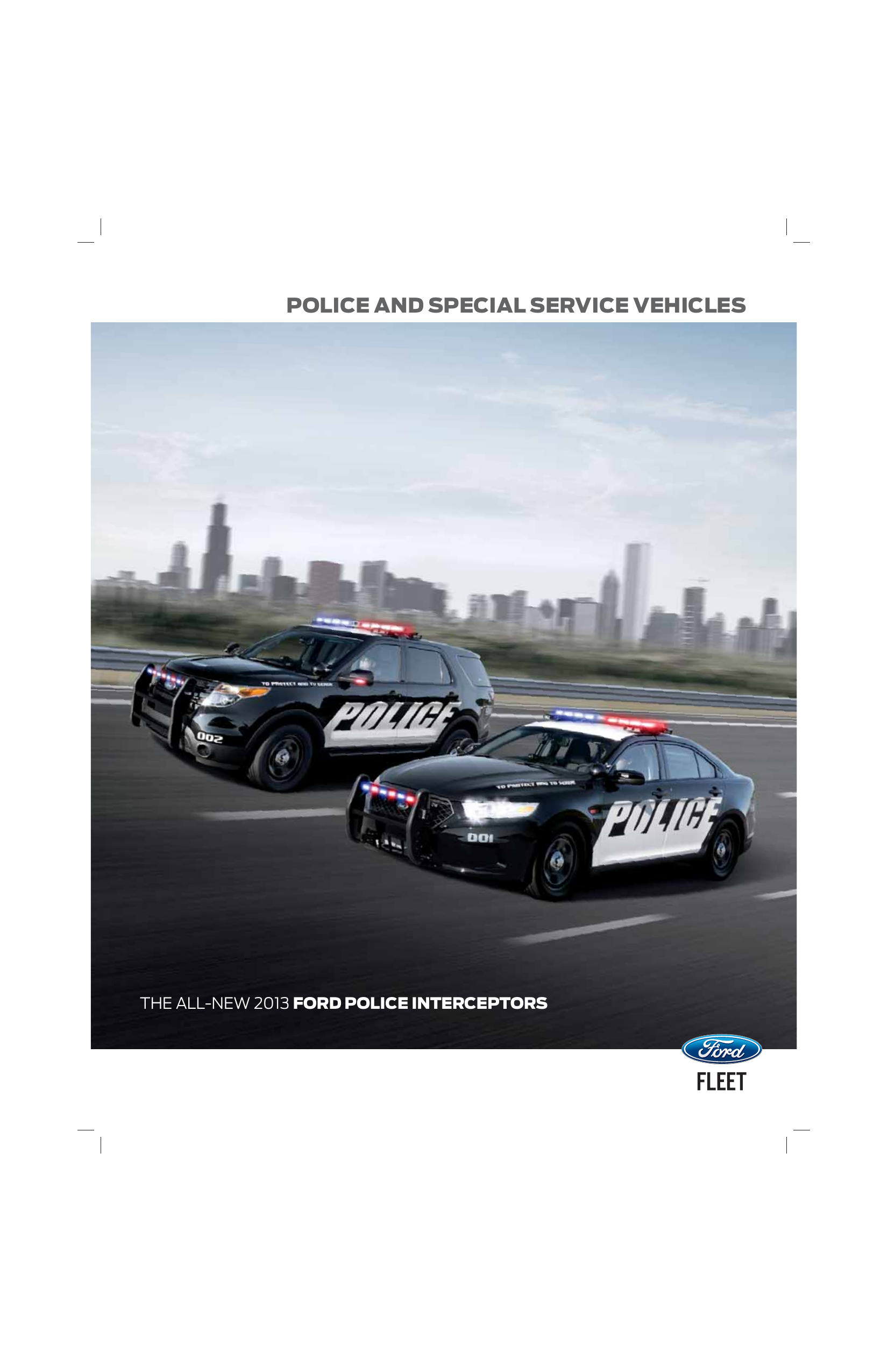 2013 ford police interceptor utility modifiers guide