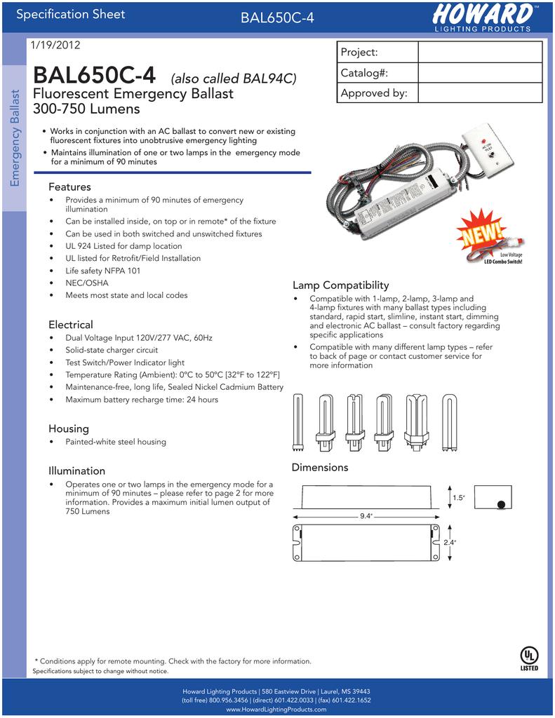 018147937_1 6aeb3db981d0af4b46ce0be33d42ee30 bal650c 4 fluorescent emergency ballast 300 bal500 emergency ballast wiring diagram at suagrazia.org