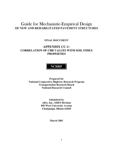 Guide for Mechanistic-Empirical Design