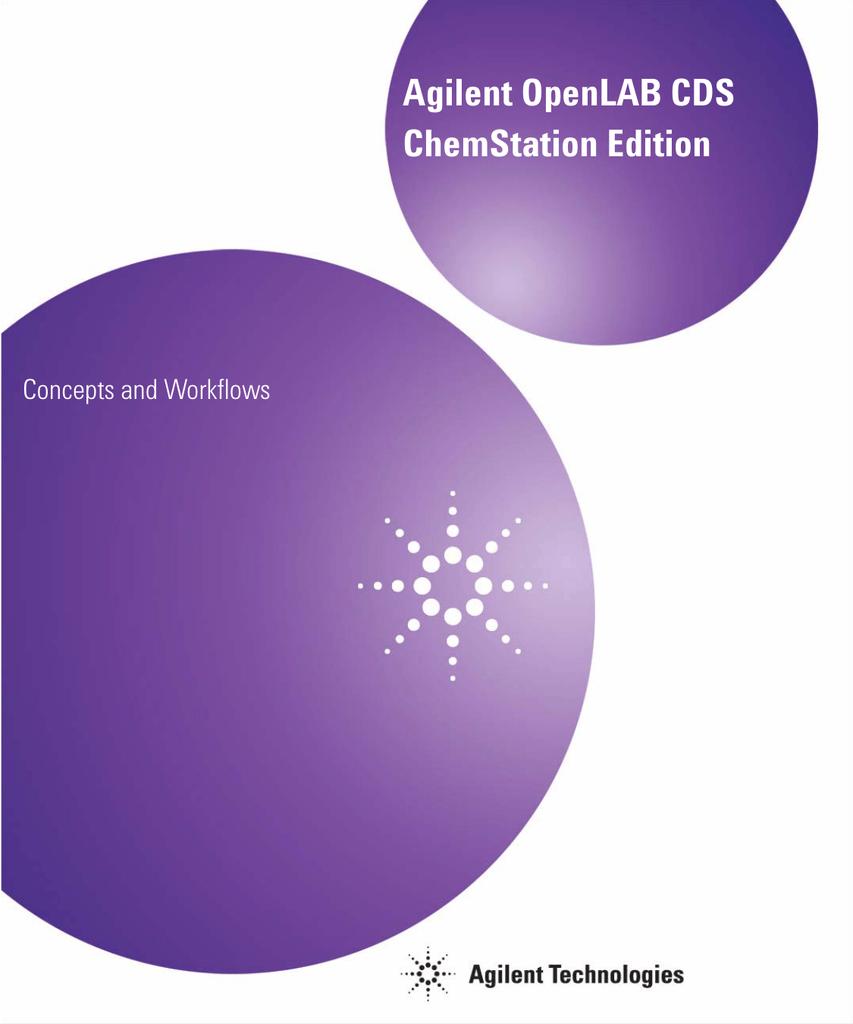 Agilent chemstation software tutorial pdf