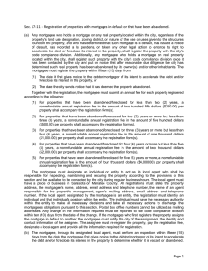 Page 1 Sec. 17-11. - Registration of properties
