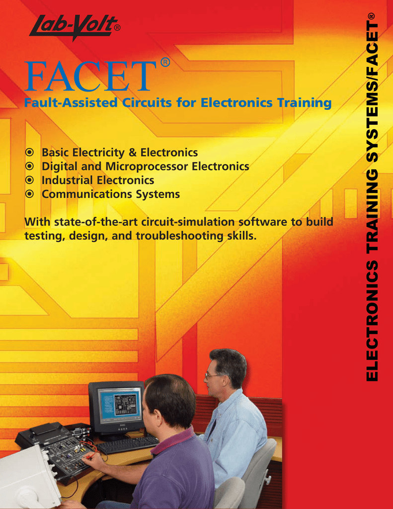 Electronics Training Systems Facet Circuitsimulationsoftware