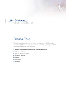 Personal-Trust - City National Bank